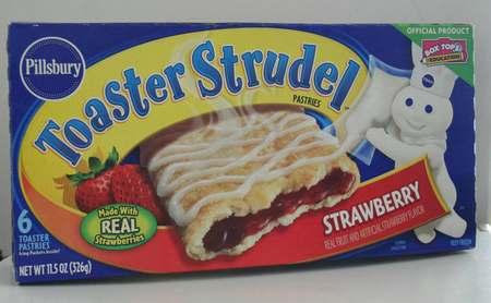 Pillsbury Toaster Strudel Strawberry - 11.5oz (326g) | It's Got - The Food Database