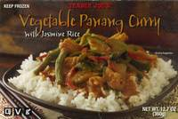 Vegetable Panang Curry with Jasmine Rice - 12.7oz (360g)